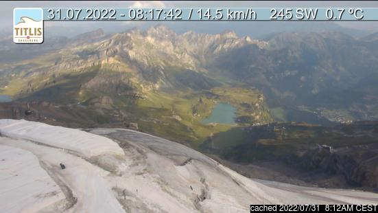 Live Snow webcam for Engelberg