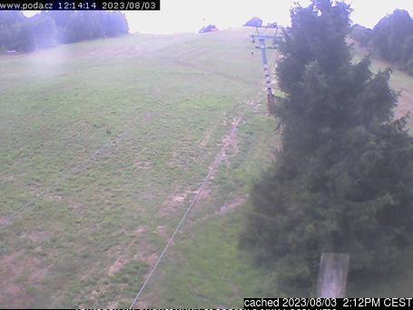 Fajtův Kopec webcam at 2pm yesterday