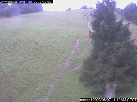 Live Snow webcam for Fajtův Kopec