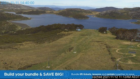 Falls Creek webcam at lunchtime today