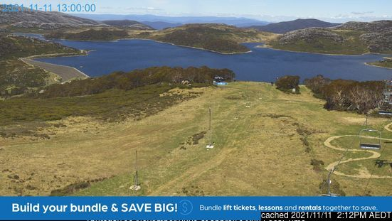 Falls Creek webcam at 2pm yesterday