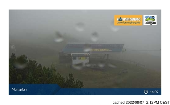 Fanningberg webcam at lunchtime today