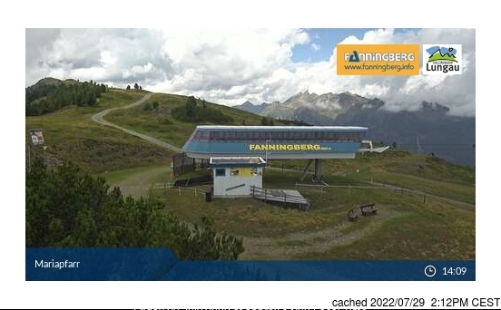 Fanningberg webcam at 2pm yesterday