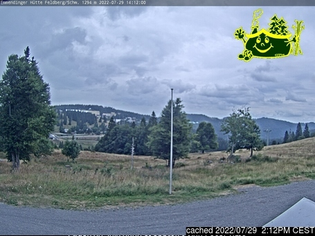 Feldberg webcam at lunchtime today