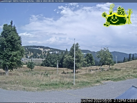Webcam de Feldberg à 14h hier