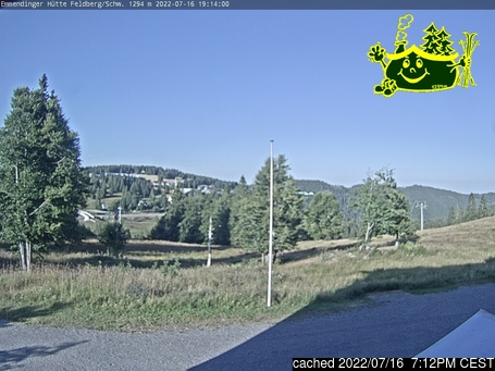 Live Snow webcam for Feldberg