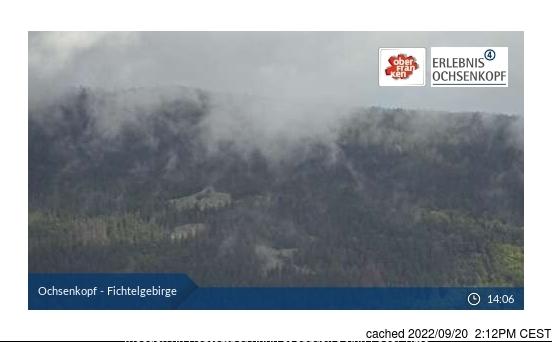 Fichtelberg webcam at 2pm yesterday