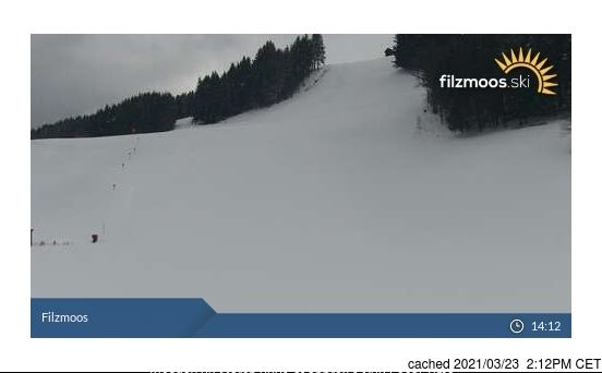dün saat 14:00'te Filzmoos'deki webcam