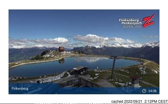 Webcam de Finkenberg a las doce hoy