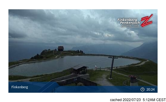 Live Snow webcam for Finkenberg