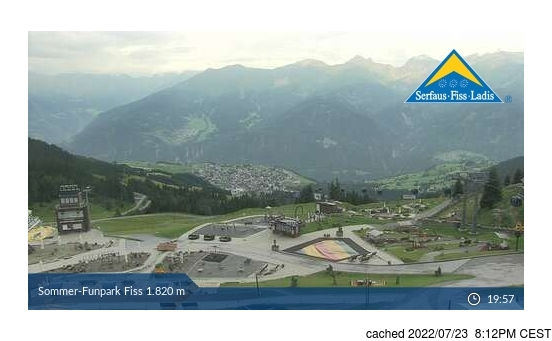 Live webcam per Fiss se disponibile