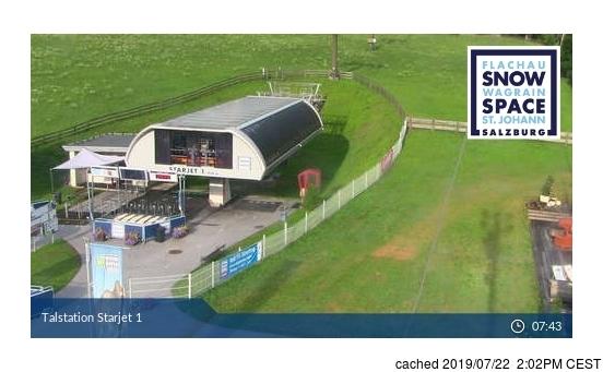 Flachauwinkl-Kleinarl webcam at 2pm yesterday
