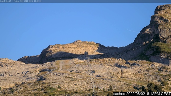 Live Snow webcam for Flaine