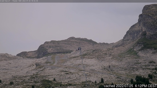 Live webcam per Flaine se disponibile