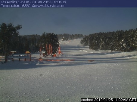 Font Romeu webcam at 2pm yesterday