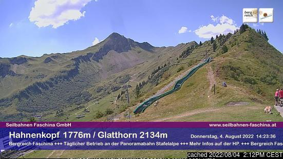 Fontanella-Faschina webcam at lunchtime today