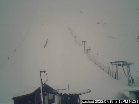 Fox Peak webcam at lunchtime today