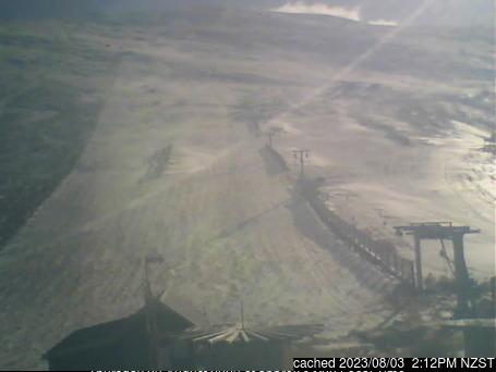 Fox Peak webcam at 2pm yesterday