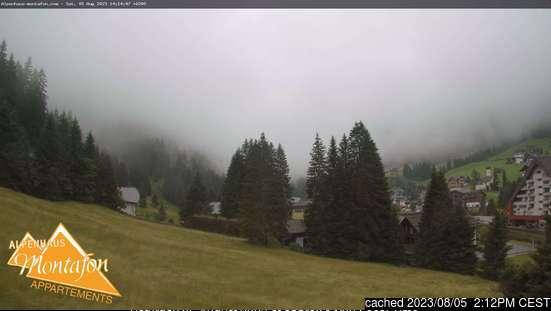 Webcam de Gargellen à 14h hier