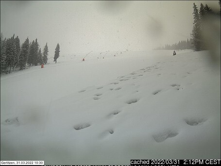 Gerlitzen webcam at lunchtime today