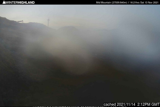 Glencoe Mountain Resort Webcam gestern um 14.00Uhr
