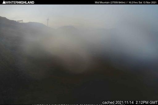 昨日午後2時のGlencoe Mountain Resortウェブカメラ