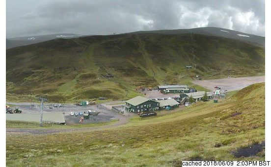 Glenshee webcam at 2pm yesterday