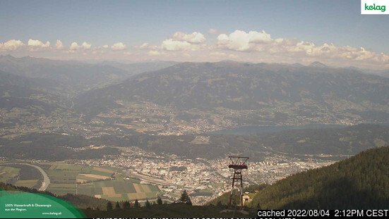 Goldeck webcam at lunchtime today