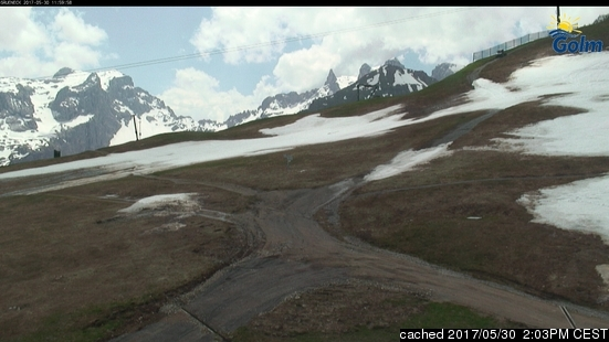 Golm webcam at lunchtime today