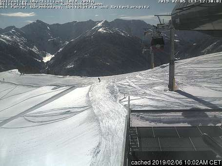 Golzentipp webcam at lunchtime today