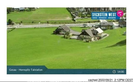 Gosau-Zwieselalm webkamera v době oběda