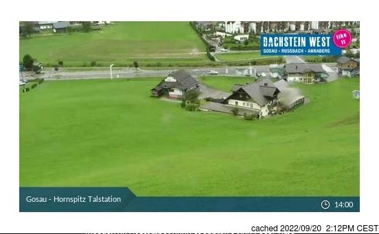 Gosau-Zwieselalm webcam at 2pm yesterday
