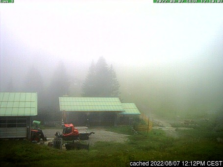 Live Snow webcam for Grasgehren/Bolgengrat
