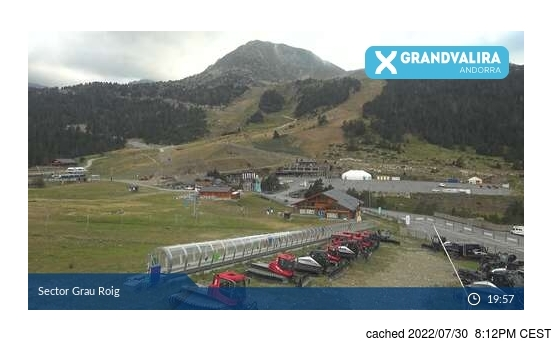 Live Snow webcam for Grandvalira-Grau Roig