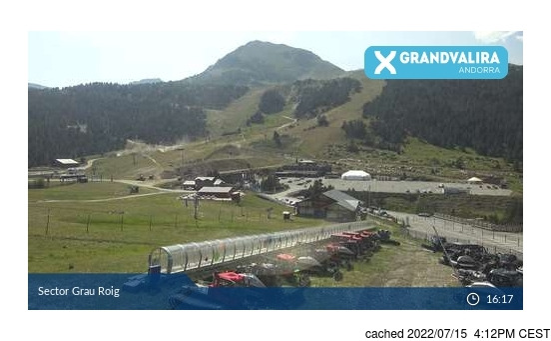 Webcam en vivo para Grandvalira-Grau Roig