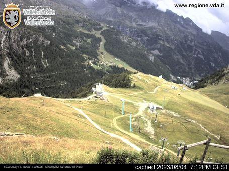 Gressoney-la-Trinite için canlı kar webcam