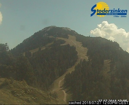 Gröbming webcam at 2pm yesterday