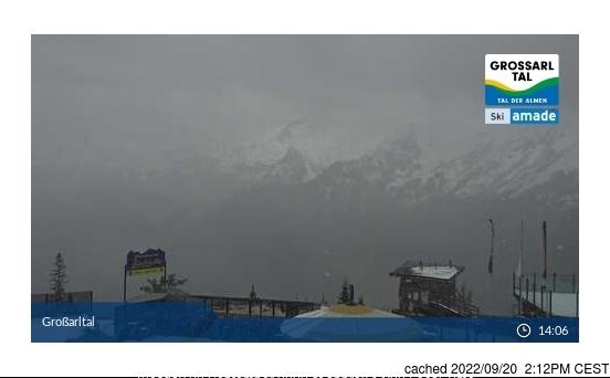 Grossarl-Dorfgastein webcam at 2pm yesterday