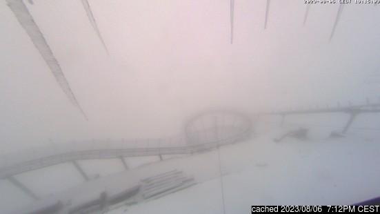 """""""Живая"""" трансляция из Gstaad Glacier 3000, где доступна"""