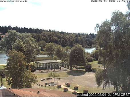 Hahnenklee webcam at 2pm yesterday