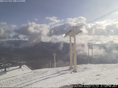 Happo One webcam at lunchtime today