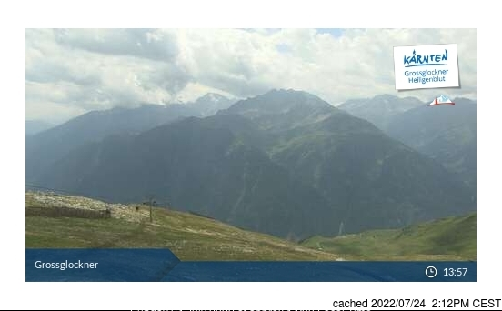 Heiligenblut webcam at 2pm yesterday