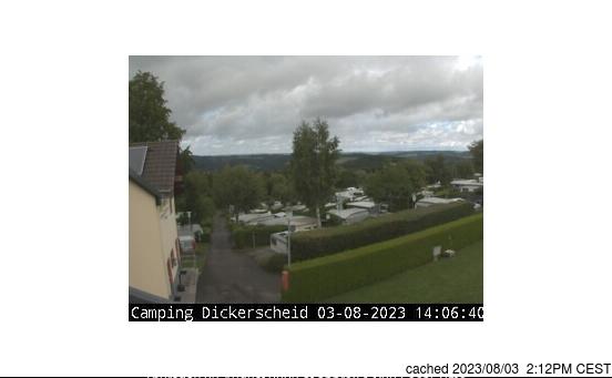 Hellenthal/Skiarena Weisser Stein webcam at lunchtime today