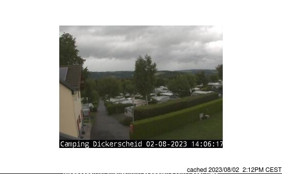 Hellenthal/Skiarena Weisser Stein webcam at 2pm yesterday
