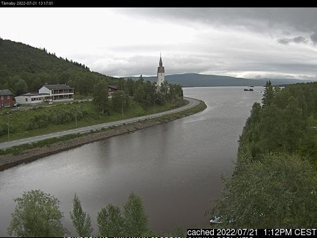Hemavan and Tärnaby webcam at lunchtime today