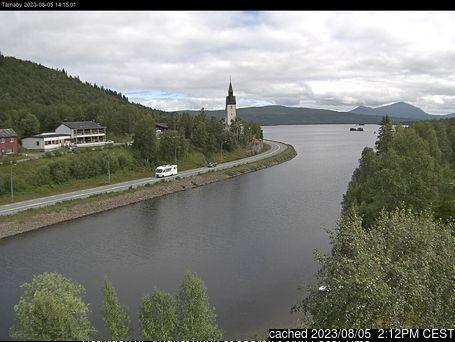 Hemavan and Tärnaby webkamera v době oběda