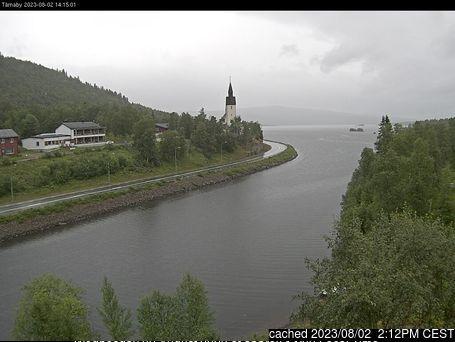 Hemavan and Tärnaby webcam at lunchtime today