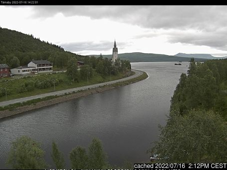 Hemavan and Tärnaby webcam at 2pm yesterday