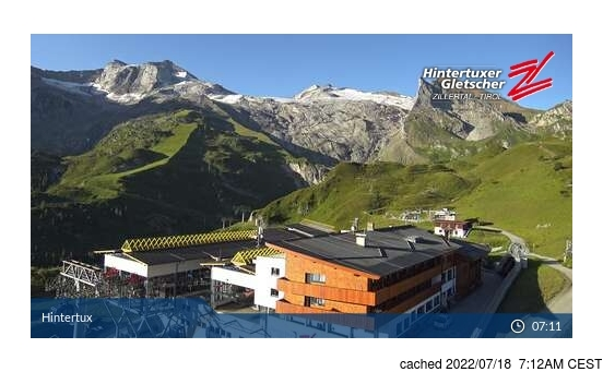 Webcam Live pour Hintertux
