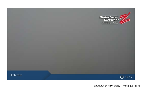 Live Webcam für Hintertux